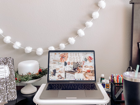 Work From Home Desk Tour!