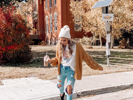 Favorite Fall Cardigans | Blogtober