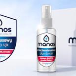 Płyn do dezynfekcji rąk Manos 50 ml