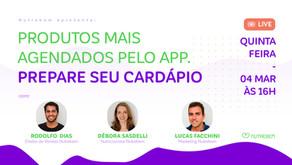Produtos mais agendados pelo app!