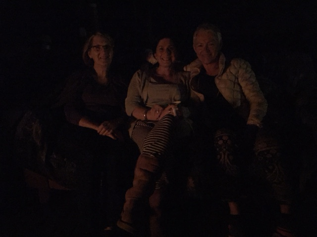 Jane, Jenny and Yola fire