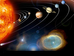 Our Solar System where the macro is mirrored in the micro - us!