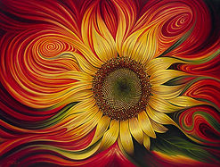 Sunflower, representing The Sun our Soul