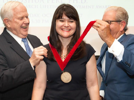 OMT CSO Awarded Prestigious 2017 NJIT Board of Overseers Excellence in Research Prize and Medal