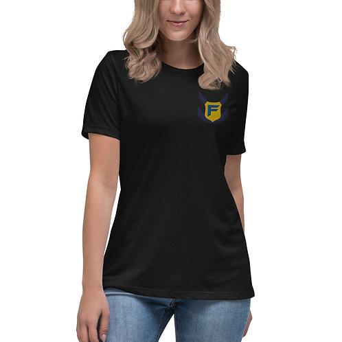 Womens Fakz Badge Premium T-Shirt