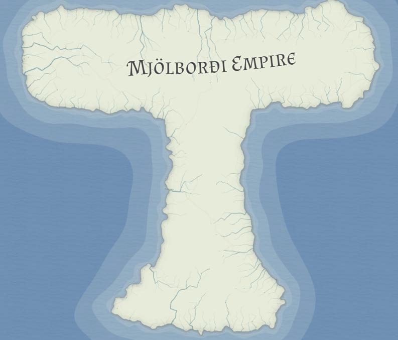 Mjølbanner Map by Bjorn