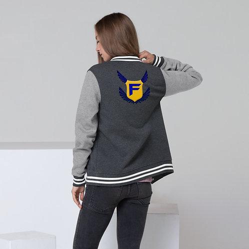 Fakz Badge Women's Letterman Jacket