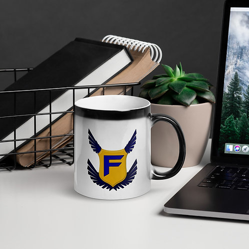 Fakz Badge Glossy Magic Mug