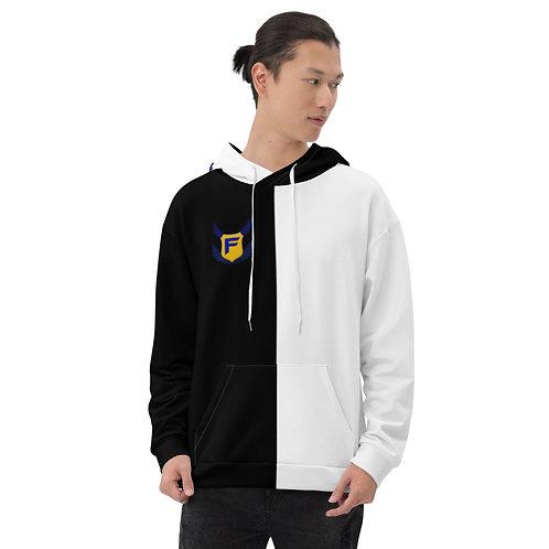 Black/White Fakz Badge Unisex Hoodie
