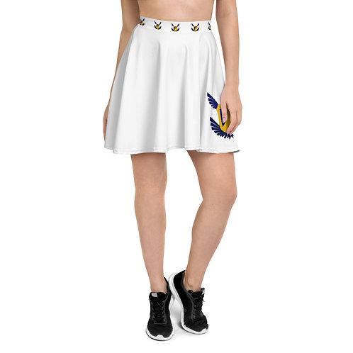 Fakz Badge Skater Skirt