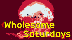 Temporary Wholesome Saturday Banner