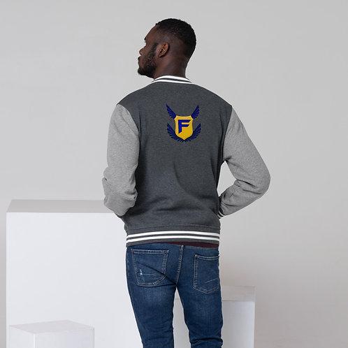 Fakz Men's Letterman Jacket