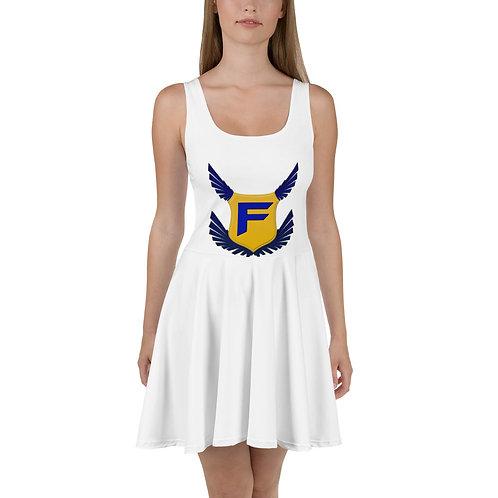 Fakz Badge Skater Dress