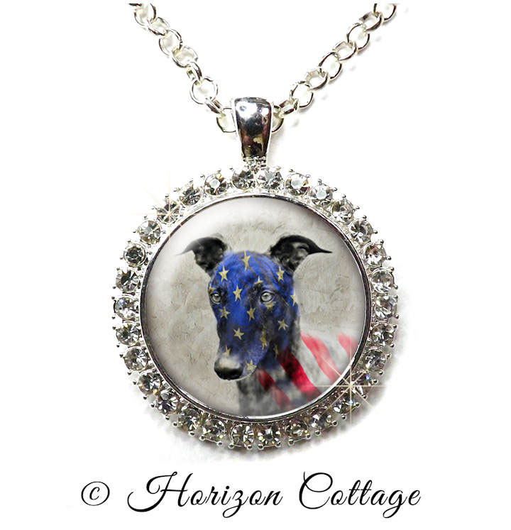 Hounds Heroes Bling Pendant