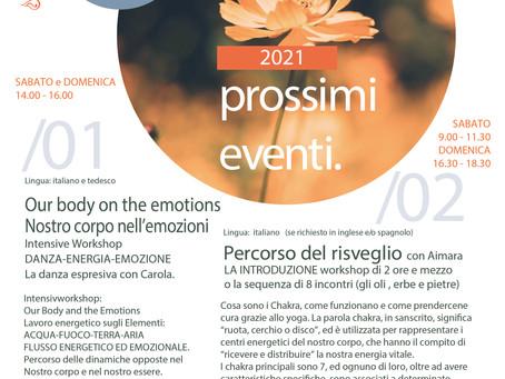 Nostri prossimi eventi / next events