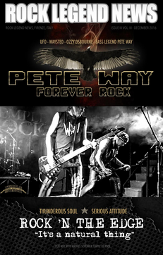 Pete Way December 2016 Issue