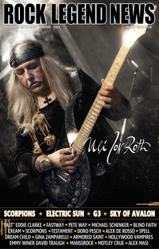 German Guitarist Uli Jon Roth March 2018 Issue