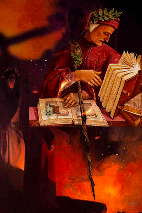 Dante Alighieri Middle Of The Path Licen