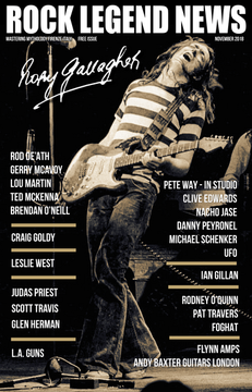 Rory Gallagher November 2018 Issue