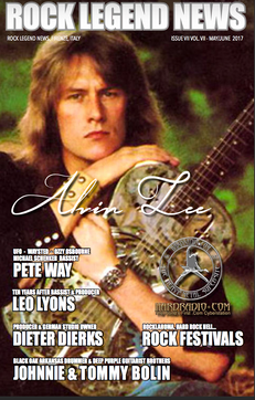 Alvin Lee May 2017 Issue