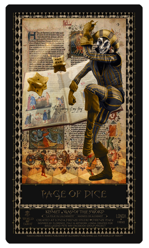 Page Of Dice
