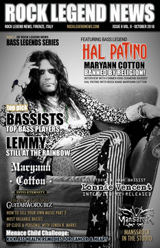 Hal Patino October 2016 Issue