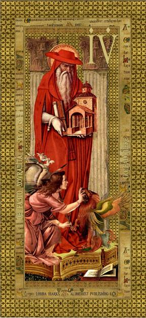 Gonfaloniere, Tarot Print