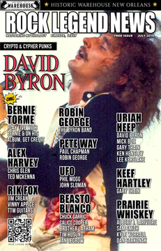 David Byron July 2018 Issue