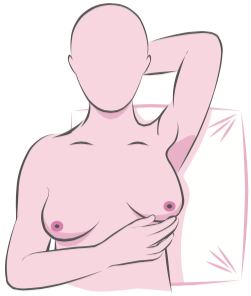 Self breast exam - step 4