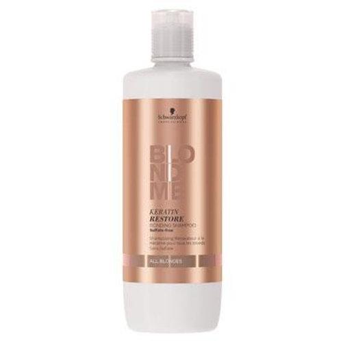 BlondMe All Blondes Keratin Restore Bonding Shampoo 1 Litre