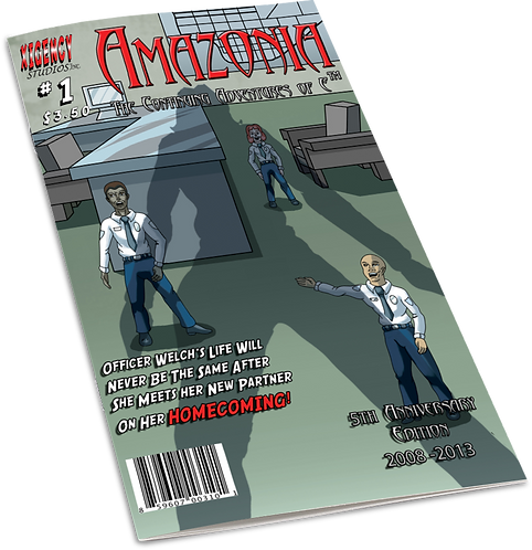 Amazonia issue #1 (5th Anniversary Edition)