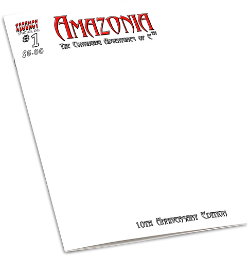 Amazonia issue #1 (10th Anniversary Edition - Sketch Cover)