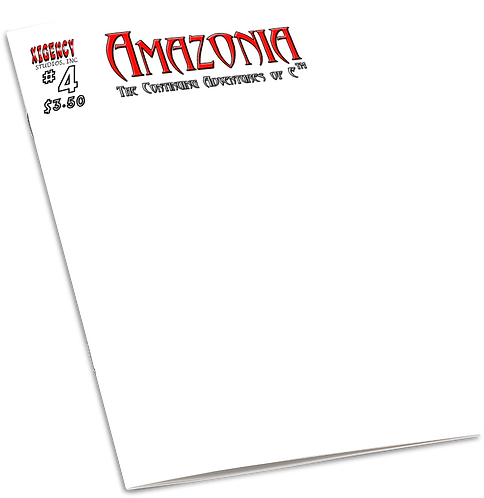 Amazonia Issue #4 (Sketch Cover)