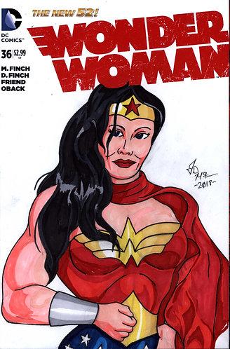 Wonder Woman #36 -Custom Cover - Diana 2
