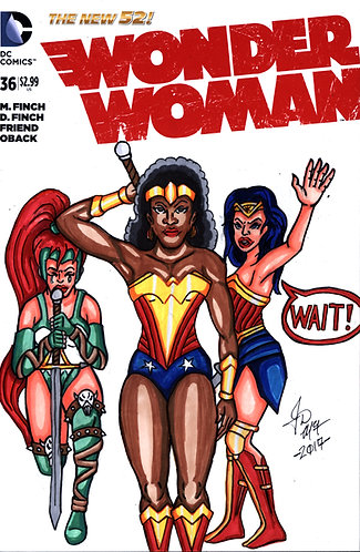 Wonder Woman #36 -Custom Cover - Wonder Women  1
