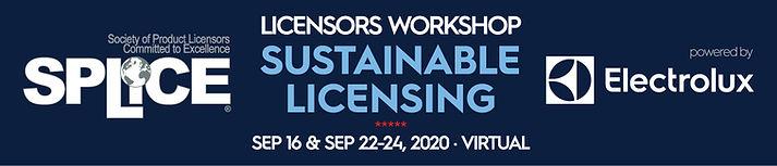 SPLiCE VIRTUAL Licensors Workshop 2020 E
