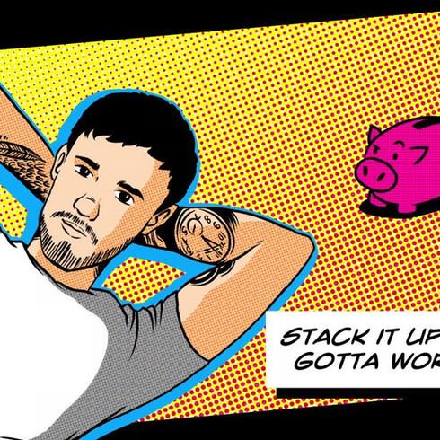 Liam Payne - Stack it Up - Lyric Video