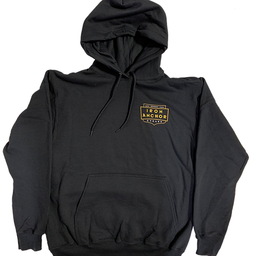 Iron Anchor Cycles Shop Hoodie