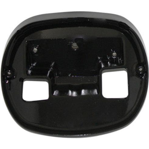 Custom Dynamics Taillight Base Plate - Black