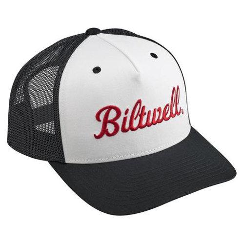 Biltwell Logo Snap Back - Black/White/Red