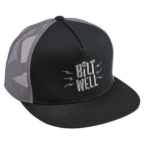 Biltwell Skully Snap Back - Grey/Black