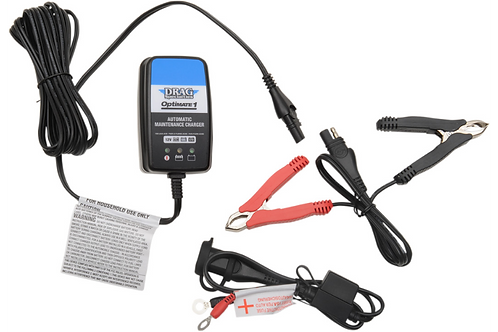 Drag Specialties Optimate 1 Battery Charger