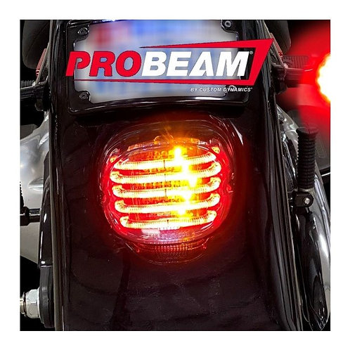 CUSTOM DYNAMICS PROBEAM® INTEGRATED LOW PROFILE LED TAILLIGHTS WITH TURN SIGNALS
