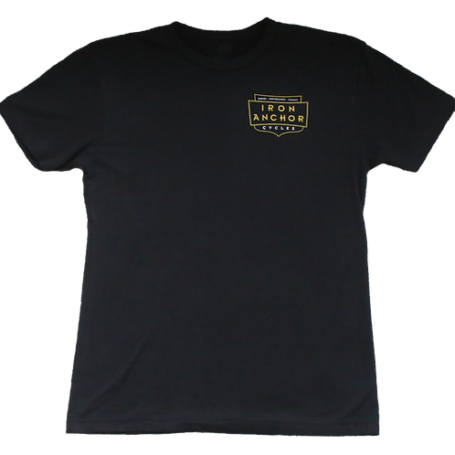 Iron Anchor Cycles Shop T-Shirt