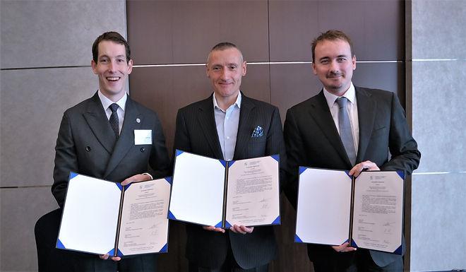 SKBC, SBHK and ECCK sign cooperation agreement