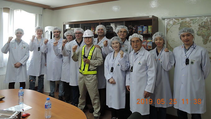 May 2019, SKBC - Lotte-Nestle Factory Visit in Cheongju