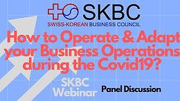 February  2020, SKBC Webinar Series 1