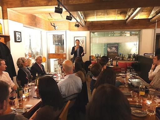 February 2019, SKBC Raclette Dinner 2019 in with Sebastien Falletti