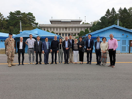 September 2019, SKBC-NNSC DMZ Tour and Lunch at the Swiss Camp