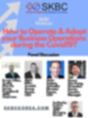Blue Grid and Arrows Conference Poster (